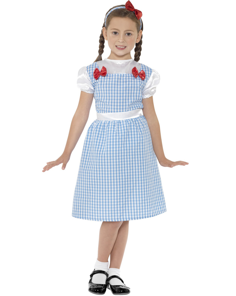 Ck438 Country Girl Wizard Of Oz Dorothy Book Week Fancy