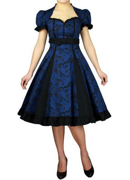 09ebebdeee RK77 Rockabilly Evening Retro Bridesmaid Dress Pin Up Vintage 50s ...
