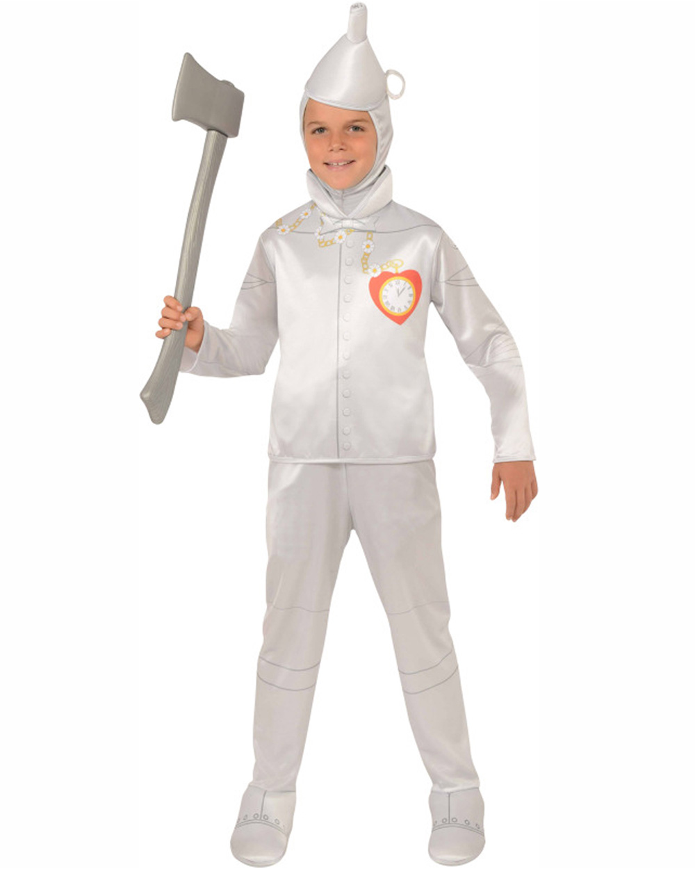 CK336 The Wizard of Oz Tinman Child Boys Girls Costume Fancy Dress Up Bookweek