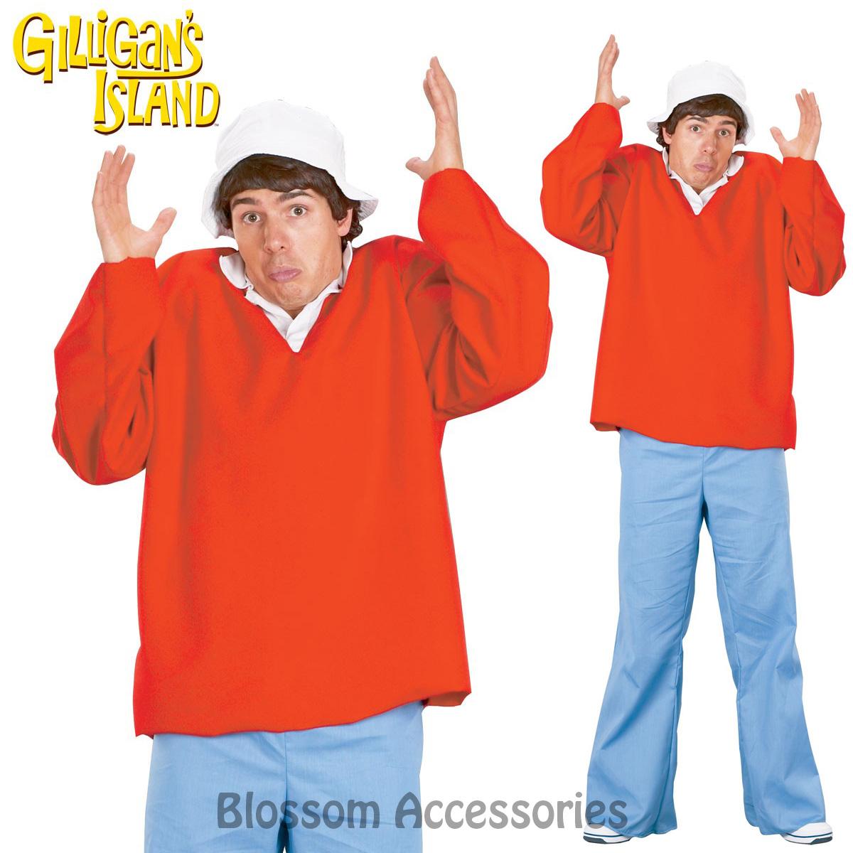cl792 gilligan's island gilligan tv show fancy dress mens halloween