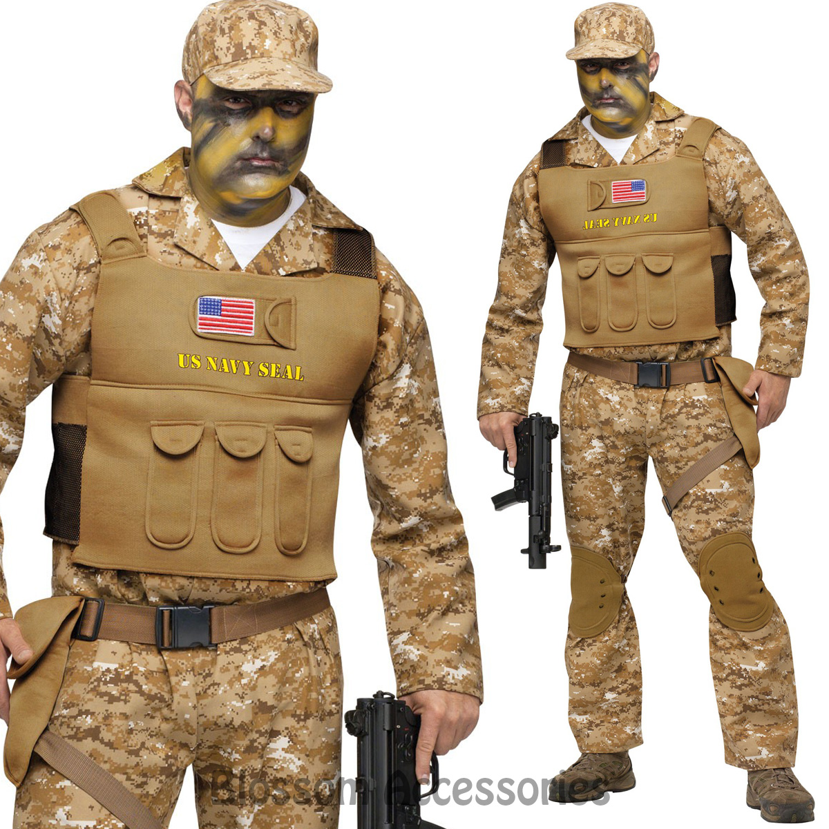 image is loading cl780 seal team navy army costume mens soldier