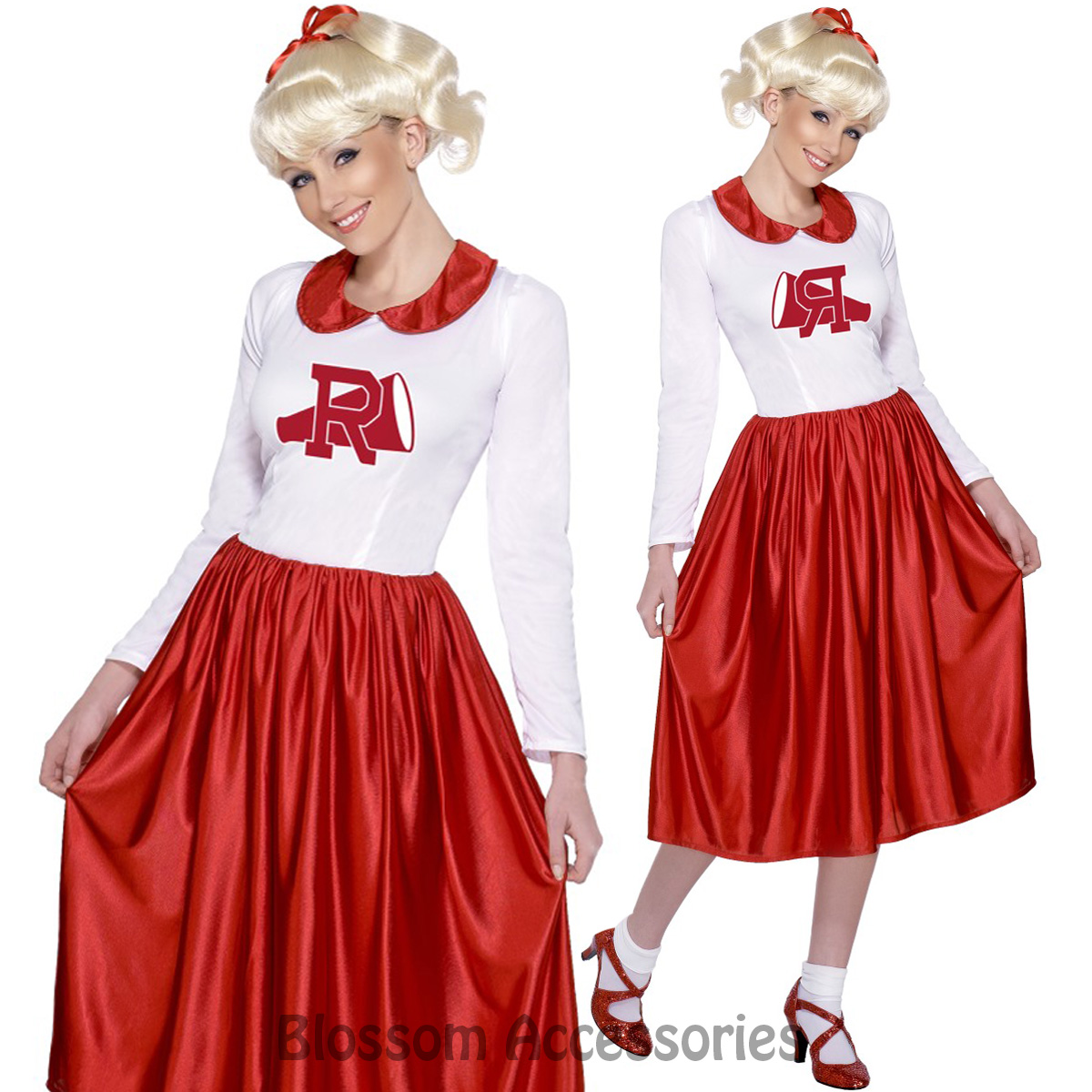 f46f70063101 Image Is Loading CL713-Grease-Sandy-Costume-Licensed-50s-Rydell-High- Sc 1  St EBay