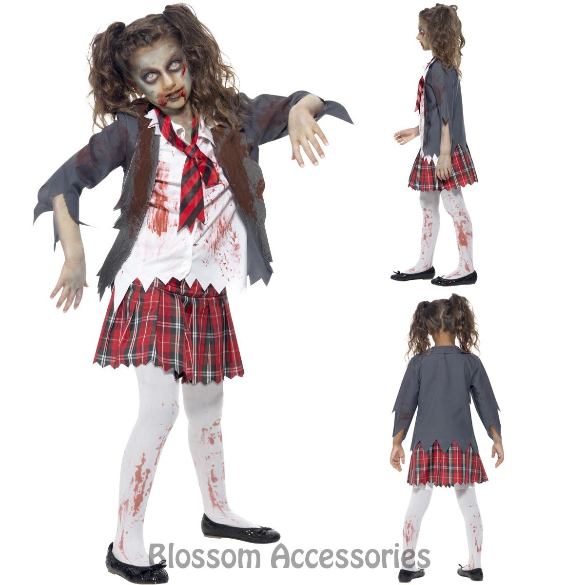How to Dress Up As a Dead School Girl for Halloween