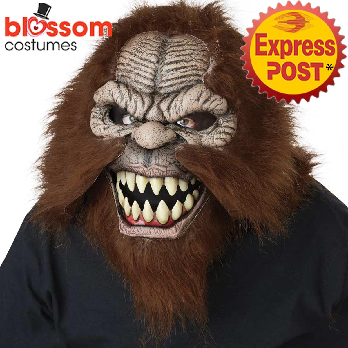 ac255 squatchin' big foot halloween ani motion horror scary evil