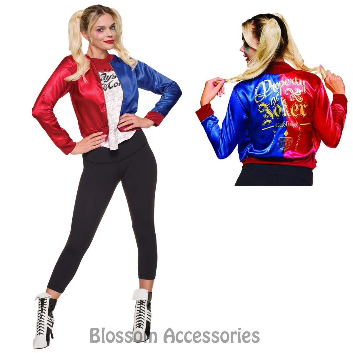 cl966 suicide squad ladies deluxe harley quinn top harley quinn's