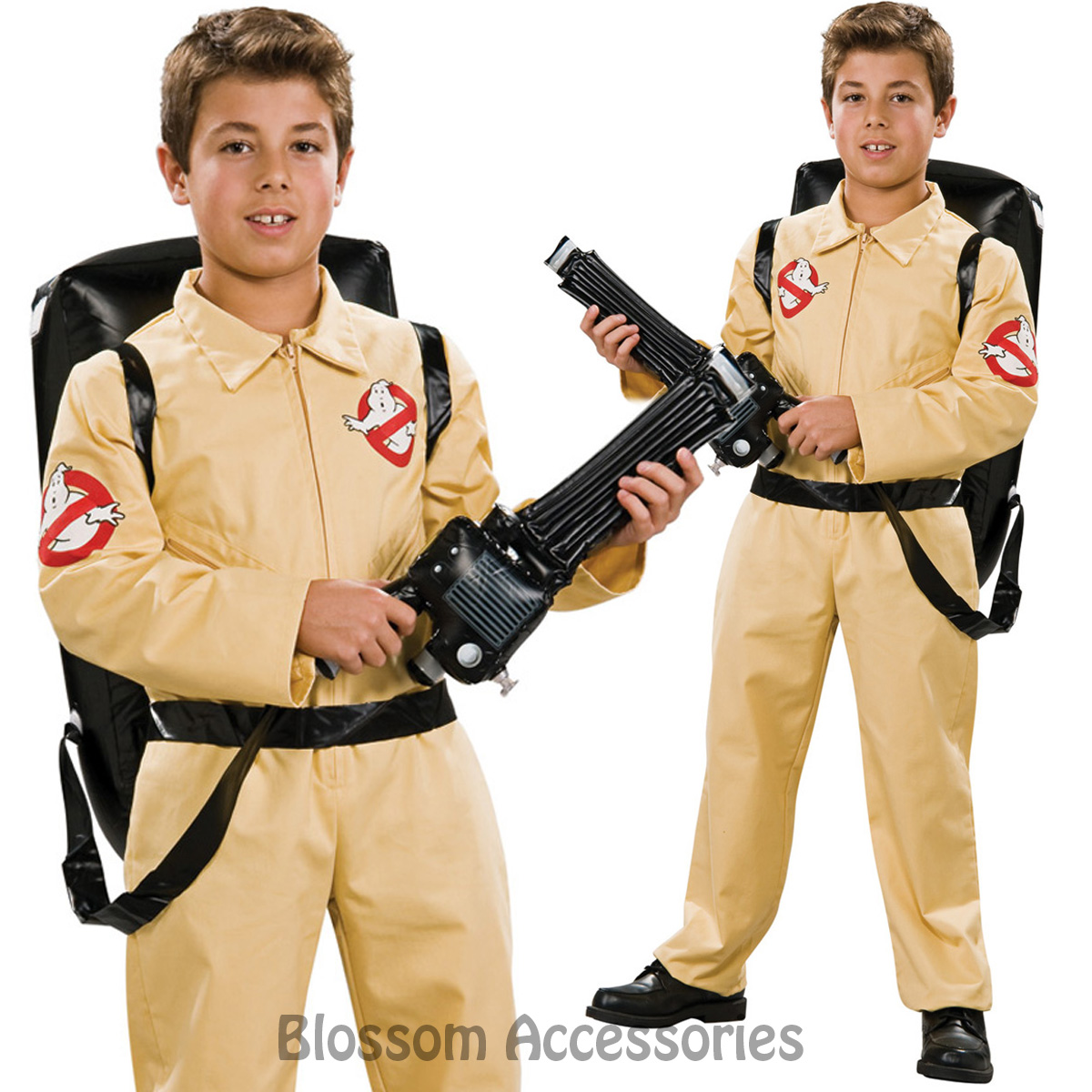 image is loading ck574 deluxe ghostbusters boys boiler suit child kid