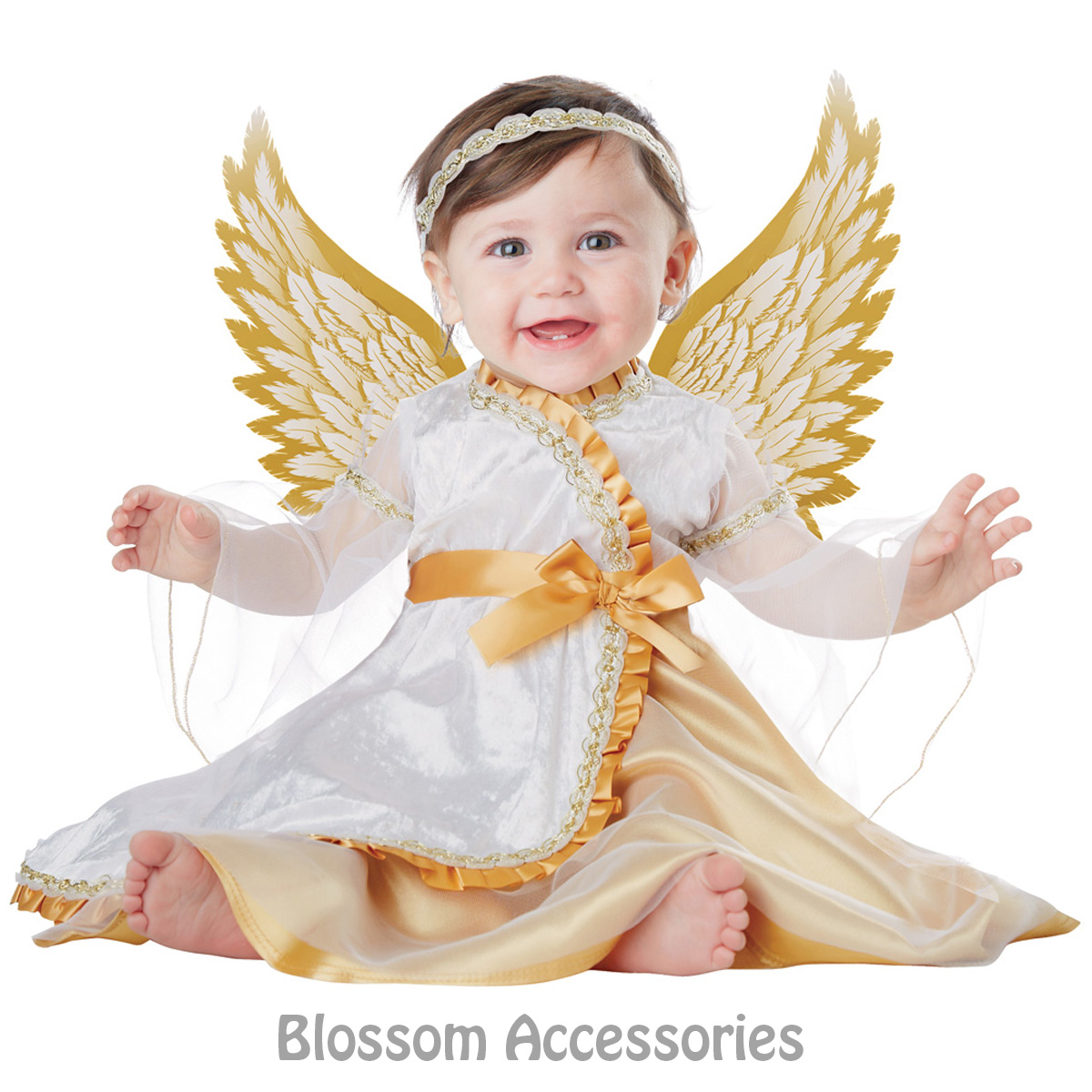 Image is loading CK567-Infant-Baby-Angel-Girls-Child-Heaven-Christmas-  sc 1 st  eBay : infant christmas costumes  - Germanpascual.Com