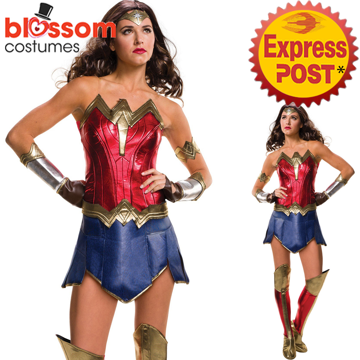 Image is loading CA278-Deluxe-Secret-Wishes-Wonder-Woman-Super-Hero-  sc 1 st  eBay : secret wishes costumes  - Germanpascual.Com