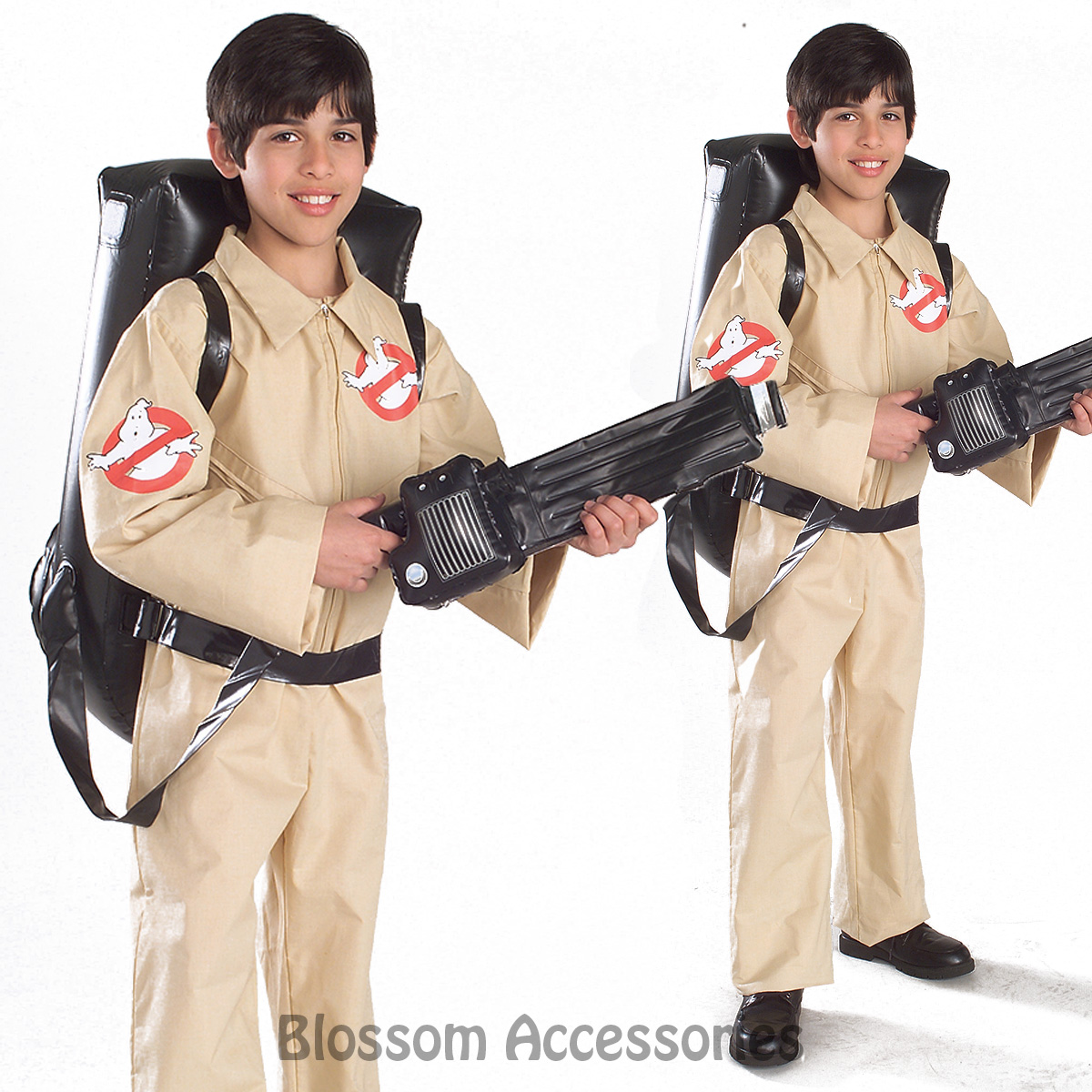 image is loading ck273 licensed ghostbusters jumpsuit boys child fancy dress