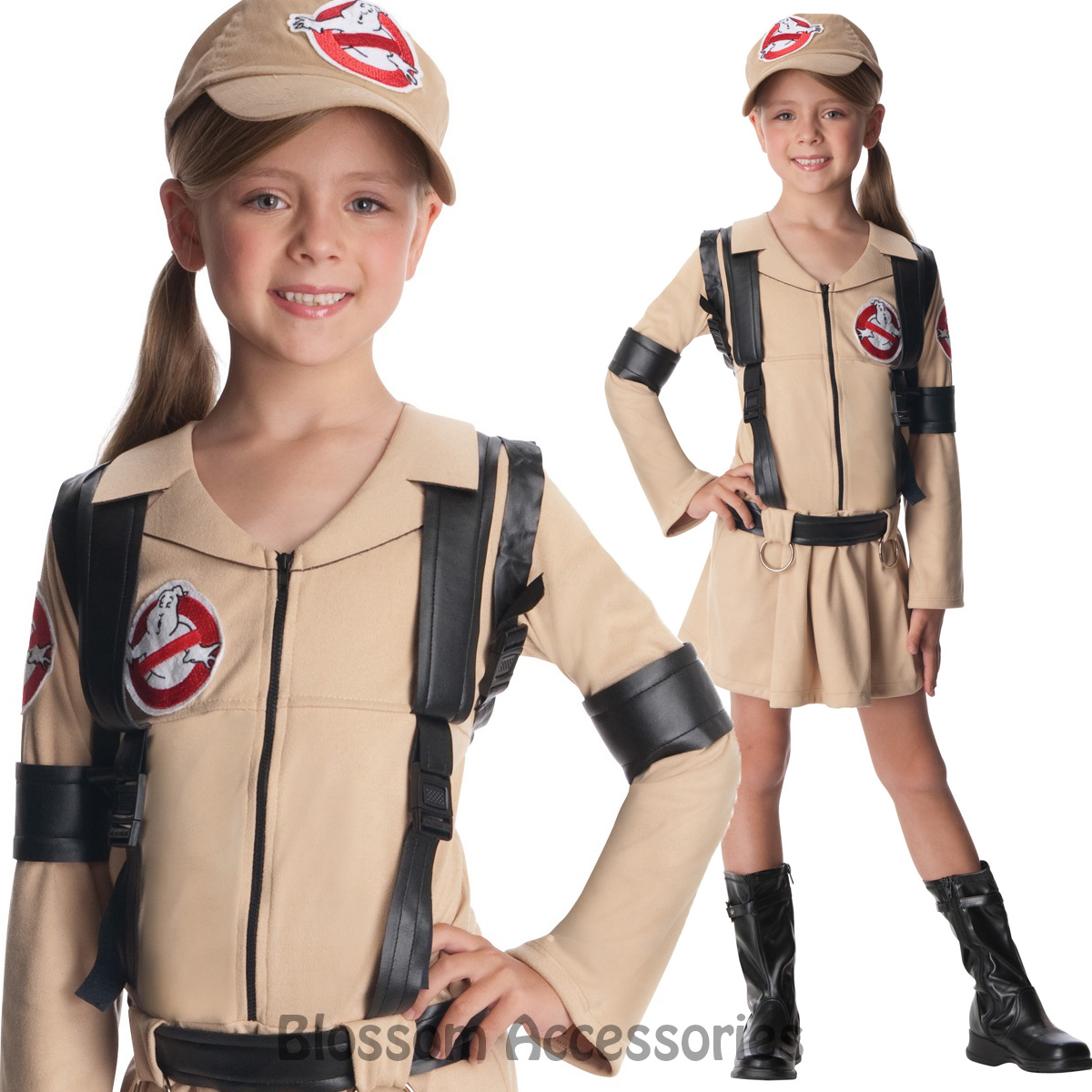 image is loading ck788 girls ghostbusters movie fancy dress halloween costume