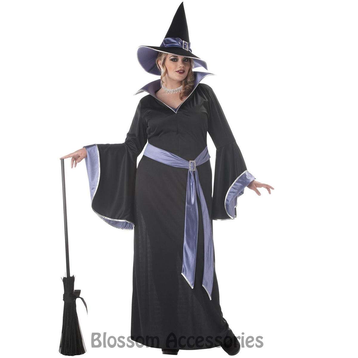 cl514 incantasia glamour witch costume halloween dress plus party