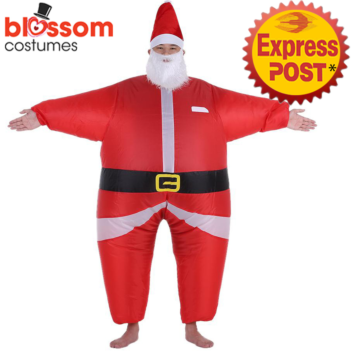 K354-Inflatable-Santa-Claus-Costume-Suit-Funny-Christmas-Xmas-Fancy-Dress-Outfit