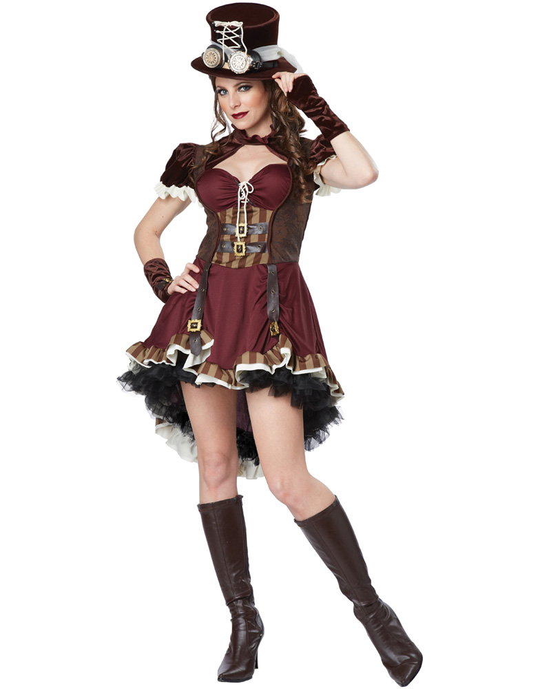 Steampunk Girl Dress Up